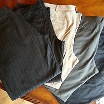 Mens Lot of 5 High End pants.38x32  J Crew Kenneth Cole  Express  Free Ship Photo