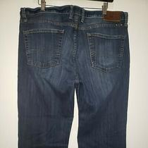 Mens Lucky Brand  361 Vintage Straight Blue Jeans 38x29 Photo