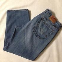 Mens Lucky Brand Jeans Size 40x29 Medium Wash Gently Worn Photo