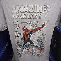 Mens Marvel Comics Amazing Fantasy Spiderman Shirt New L Photo