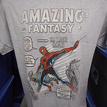 Mens Marvel Comics Amazing Fantasy Spiderman Shirt New S Photo