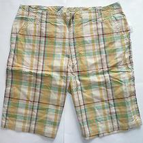 Mens Men's Aeropostale Plaid Shorts Size 38 Nwt 6414 Photo