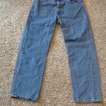 Mens/men's Levis 505 Jeans 38x30 Photo