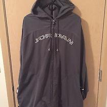 Mens Michael Air Jordan 23 Jumpman Pullover Double Zip Hoodie Size 5xl Gray Photo