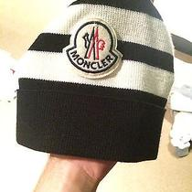 Mens Moncler Designer Beanie Photo