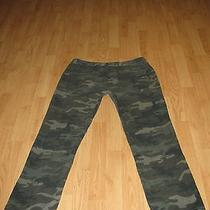Mens Mossimo Camo Pants 36 X 32  Slim Straight Woodland Camouflage 38 34 30 79a Photo