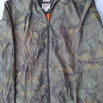 Mens Mossimo Camouflage Camo Water Resistant Lightweight Jacket Xl Hoodie  Photo