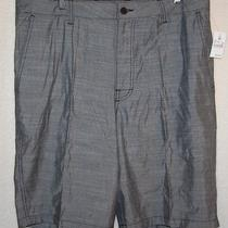Mens Mossimo Supply Co Shorts Size 36- Gray- New With Tag Photo