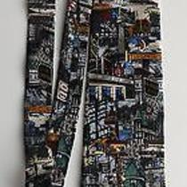 Mens My Toronto Tie -Maple Leaf Gardens Casa Loma Massey Hall El Mocambo City Tv Photo