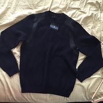 Mens Navy Blue Lanvin Xl Sweater Photo