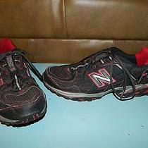 Mens New Balance 625 All Terrain Athletic Shoes Black/gray/red Sz 10 Euc Photo