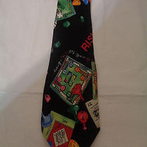 Mens Nicole Miller Board Games Tie Photo