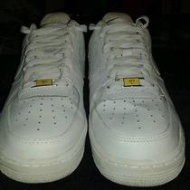 Mens Nike Air Force 1 Low Top White Size 9.5 Photo