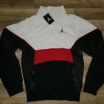 Mens Nike Air Jordan Retro 3 Track Half Zip Jacket Aq0942 100 Size Xs Photo