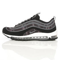 Mens Nike Air Max 97 Premium Tape Sz 9.5 Black Cool Grey White Camo 599518-001 Photo