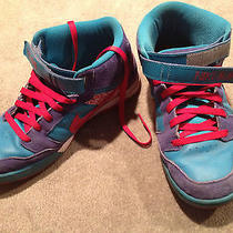 Mens Nike Id 6.0 Sz 11.5 Custom Suede  Leather Athletic Casual Shoe Multi Color Photo