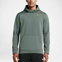 Mens Nike Therma-Fit Sphere Hoodie Grey Size M Fitness Sweater Photo