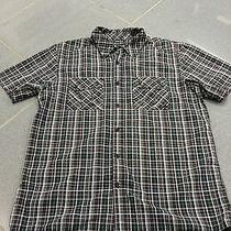 Mens Oakley Large Button Up Shirt Dress Shirt Casual Name Brand Fall Style Sale Photo