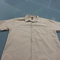Mens Oakley Medium Button Up Shirt Dress Shirt Casual Name Brand Fall Style Sale Photo