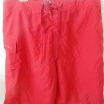 Mens Oakley Red Surf Shorts Size 34 Photo