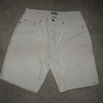 Mens Off White Guess Demium Shorts - Size 33w - Euc Photo