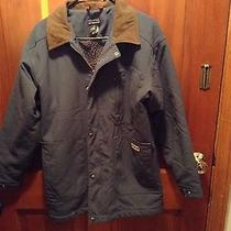 Mens Patagonia Barn Coat Navy Sz S Sherpa Lining Photo