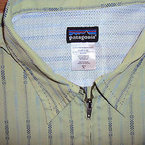 Mens Patagonia Full Zip Hiking/outdoor Shirt-S/s-Xl Photo