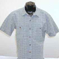 Mens Patagonia Hemp & Organic Cotton Green Short Sleeve Shirt Size Large Photo