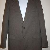 Mens Patagonia Herringbone Brown 2 Button 3 Pocket Sport Coat Blazer Size 40r  Photo