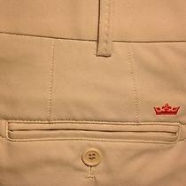 Mens Peter Millar Wicking Element Athletic Golf Pant Size 36x30 - Khaki - Pants Photo