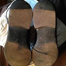 Mens Prada Black Dress Shoes Photo