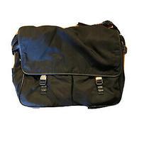 Mens Prada Black Messenger Bag Photo