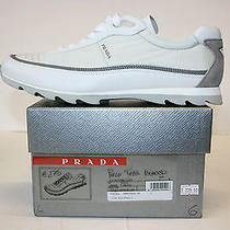 Mens Prada Shoes Fashion Sneakers Trainers Casual Made in Italy Shoes Size 6 Photo