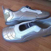 Mens Prada Slip on Leather Shoes Sz 9.5 Photo