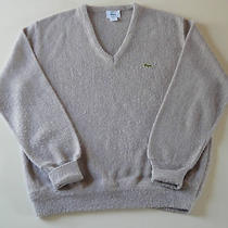 Mens Pre-Owned Size Medium Lacoste v Neck Sweater in Great Condition Photo