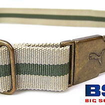 Mens Puma Adjustable Belt With Seat Belt Style Buckle Photo