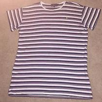 Mens Ralph Lauren Stripe Shirt Size M Photo