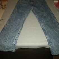 Mens Rare Vintage Levis Jean Denim Jeans 38 X 32 Stone Wash Little Orange Tag Photo