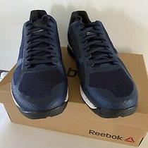 Mens Reebok Speed Training Shoes Sz 7.5 Us Navy/blue/white New  Photo
