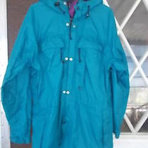Mens Rei Elements  -Water Resistant Light Jacket--Size M--With Hood Photo