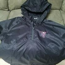 Mens Ripndip Hell Pit Hooded Coaches Jacket Black Size M Photo