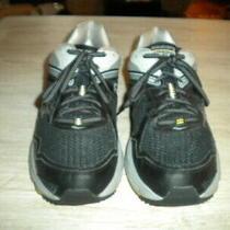 Mens Saucony Cohesion 10 Black/gray Shoes 11.5 W (Eu46) Photo