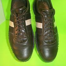 Mens Shoe Sz 9d Bally Leather Fashion Athletic Brown Photo