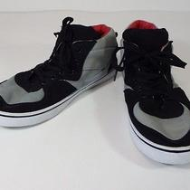 Mens Shoes Black and Grey Carbon Elements Fashion Sneakers Size 10/11 M  Photo