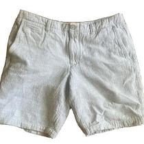Mens Shorts 33 Waist Light Gray Cotton Gap Brand Pre-Owned Photo