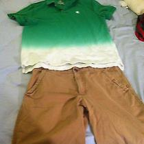 Mens Shorts Shirts Lot of 2 Express Mossimo American Eagle Hollister Photo