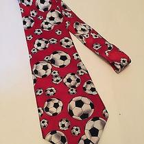 Mens Silk Neck Tie by Christian Pelini Soccer Sports Balls Coaches Photo