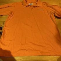 Mens Size Large Columbia Short Sleeve Polo Omni Wick Shirt  Photo