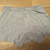 Mens Size Large Diesel Light Grey Silver Boxer Shorts Briefs Pants Underwear Photo