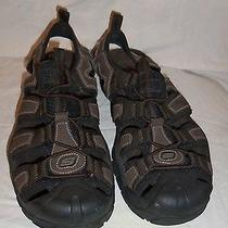 Mens Skechers Leather Hiking Outdoors  Sandals  Size 7 Photo